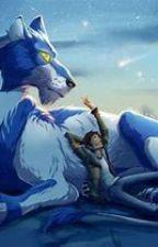 Blue Wolf (shance) by licilulu