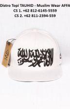 EXCLUSIVE, WA. +62 812-6145-5559, Jual Topi Tauhid by distrotopitauhid