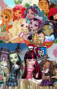 Monster High Meets Ever After High!  cover