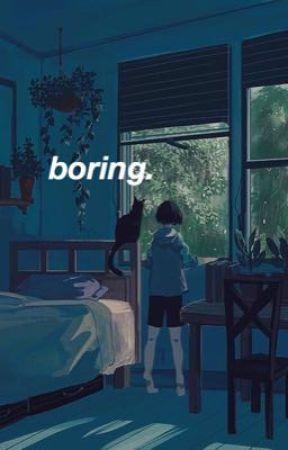 boring.  [kim namjoon] by girlbythelake