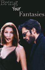 Bring your fantasies // Sebastian Stan x Bella Hadid by somebodyelzes