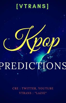   Vtrans   Predictions about Kpop