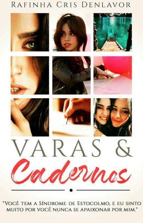 Varas & Cadernos by Rafa-Denlavor