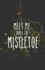 meet me under the mistletoe • nomin by wickedjackel