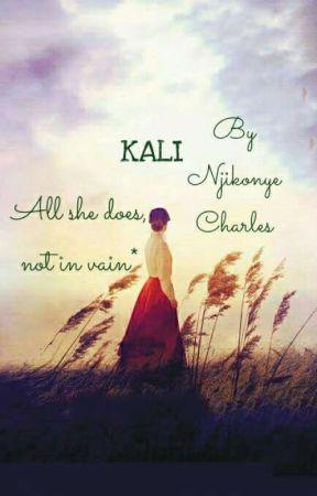 KALI (completed✔) Novice Writing  by CharlesNjikonye
