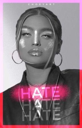 ❪    finalizada.   ❫ hate,   noah urrea. by choeyart