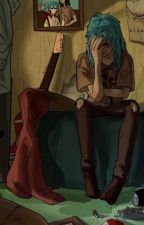 That blue boy  ( Sally Face x reader ) by ghostbie