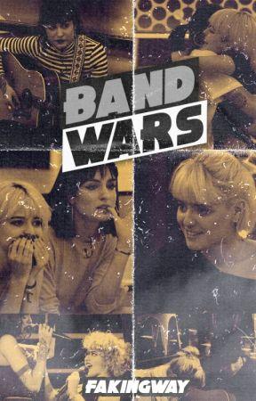 Band Wars   Albalia AU by FakingWay