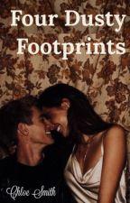 Four Dusty Footprints  by chloeestella77