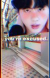 you're excused. -ksj cover