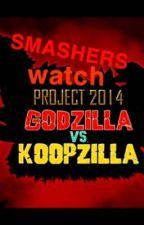 Smashers watch Godzilla vs Koopzilla by Omega0999