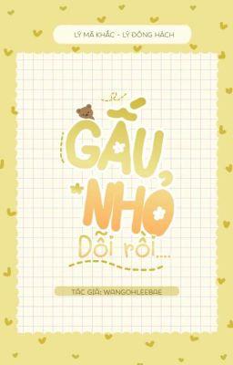 MarkHyuck | Gấu nhỏ dỗi rồi
