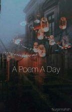 A Poem a Day by ahnnarha
