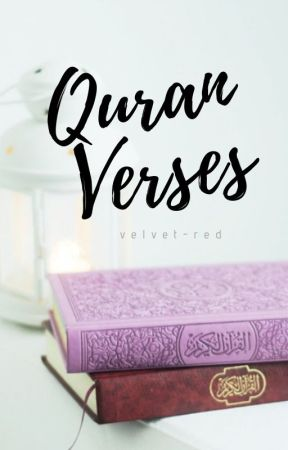 Quran Verses by velvet-red