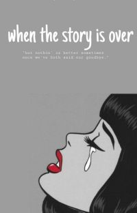 when the story is over (revisi) cover