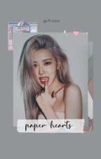 paper hearts | rosékook by gcfrosie
