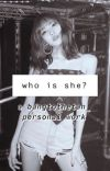 who is she? cover
