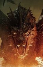 The Golden Fire Drake (Smaug x MGE) by DraconianLover009