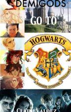 Demigods go to Hogwarts | ✓ by ClaireValdez