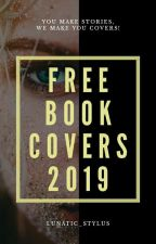 Free Book Covers 2019 (CLOSED) by lunatic_stylus