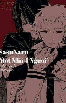 SasuNaru: Một nhà bốn người.