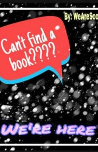 Can't find a book?? cover