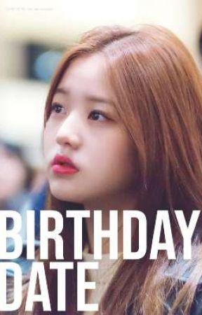 Birthday Date • a.yj x j.wy by ahnpanman