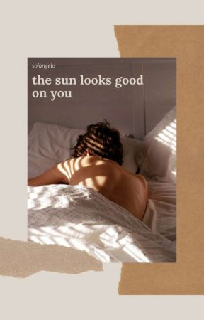 the sun looks good on you - solangelo by starryid