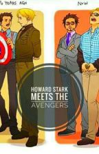 Howard Stark Meets The Avengers  by SerlinaBlack