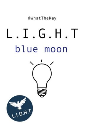 L.I.G.H.T blue moon by WhatTheKay