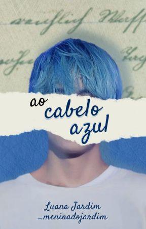 To Blue Hair by _meninadojardim