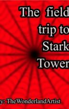 The field trip to stark towers. Spiderson and irondad by TheWonderlandArtist