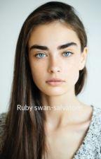 Ruby swan-salvatore  by malikabish
