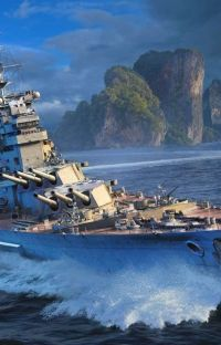 The British Iowa(Male Battleship x Azur Lane) cover