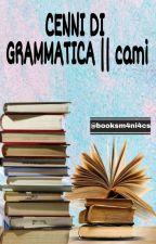 CENNI DI GRAMMATICA || cami by booksm4ni4cs