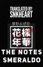 BTS SMERALDO THE NOTES 1 (Edited & Translated) by SnKHeart