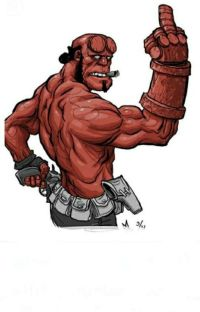 My Favorite Color Is Red..(hellboyxreader) cover