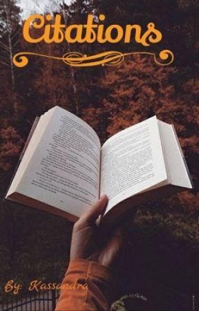 Citations... by Kassandralarry