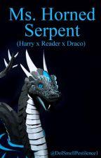 Ms. Horned Serpent (Harry x Reader x Draco) by DoISmellPestilence1