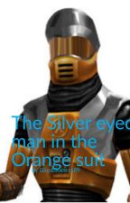 The Silver Eye man in the Orange Suit by Ghostbuster189