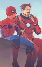 Spiderson and Irondad oneshots by vxllich0r