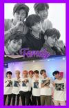Family of BTS and TXT cover