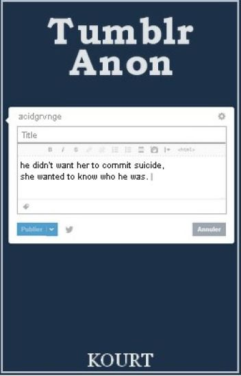 tumblr anon. ◆ calum hood