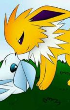 Thunder and Ice (Jolteon x Glaceon) {Pokemon} by Eevees_Closet