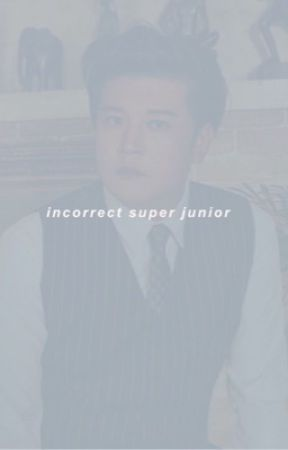 incorrect super junior 💫 by -chanhees