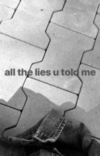 all the lies you told me  by dianusqaa