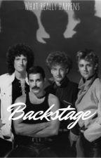Backstage  by rogertaylorsbitch