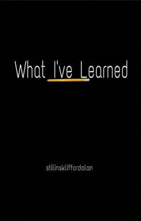What I've Learned || Ethan Dolan - Book Two by stilinskliffordolan