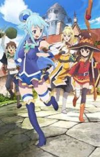 Konosuba: dragon's blessing in this new world cover
