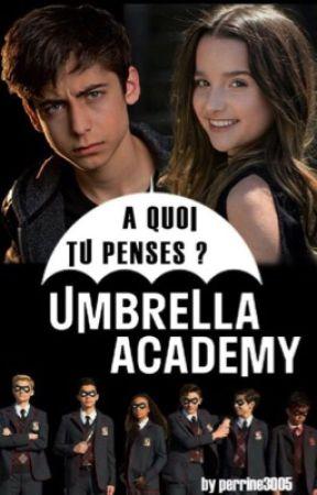 A quoi tu pense ? /umbrella academy (en pause) by perrine3005